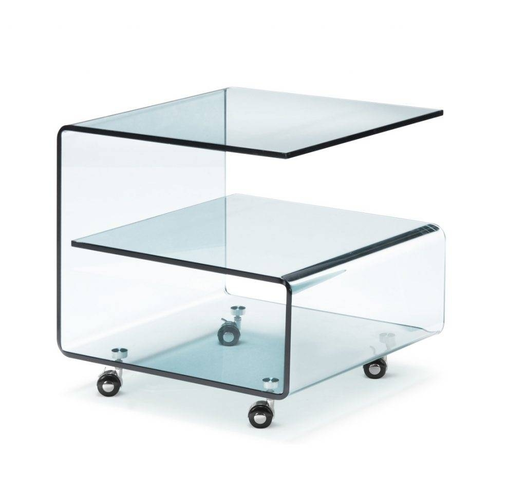 Round Coffee Table On Wheels 30 Best Collection Of Glass Coffee Tables With Casters