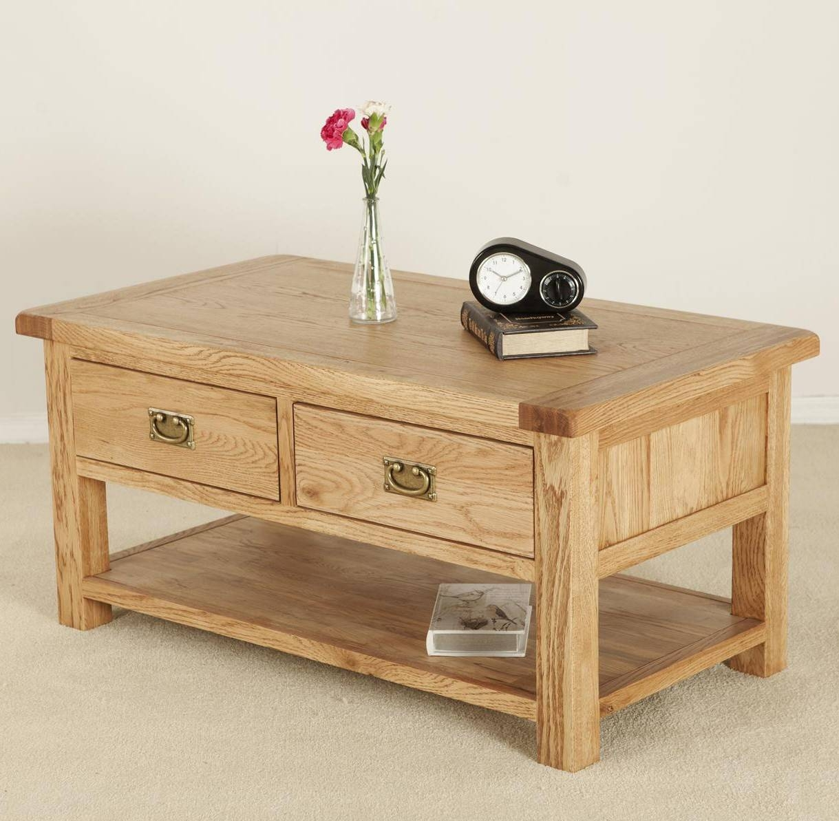 Small Wooden Coffee Table Solid Wood Coffee Tables With Drawers Buethe Org