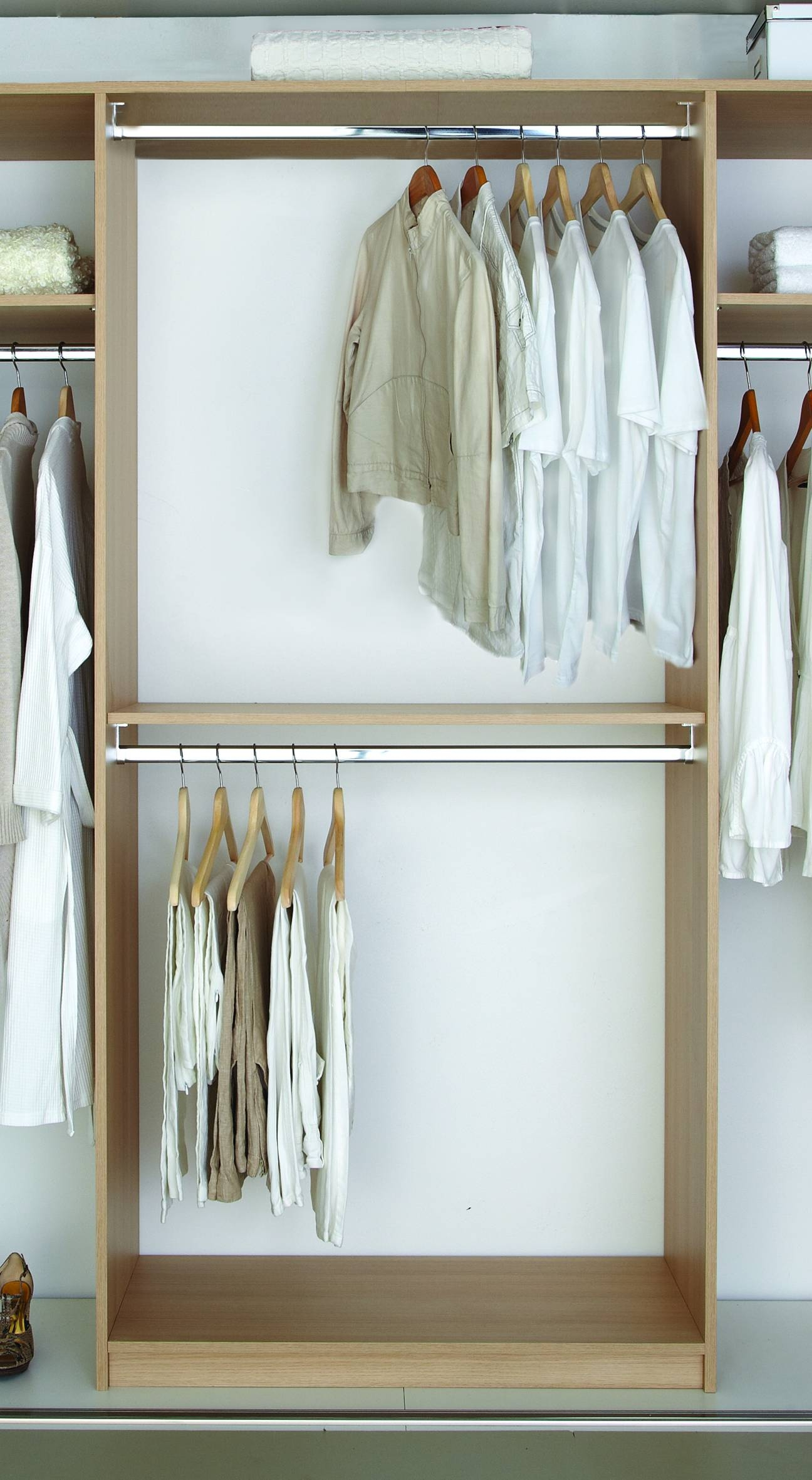 Double Hanging Wardrobe 30 Best Collection Of Double Hanging Rail Wardrobes