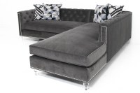 Tufted Sectional Sofa Chaise Sofa Beds Design Stunning ...
