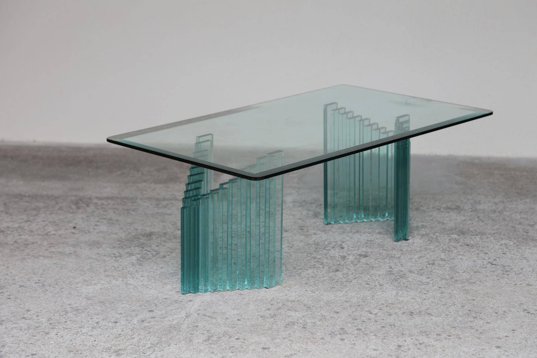 Glass Top Coffee Tables For Sale 30 Photos All Glass Coffee Tables