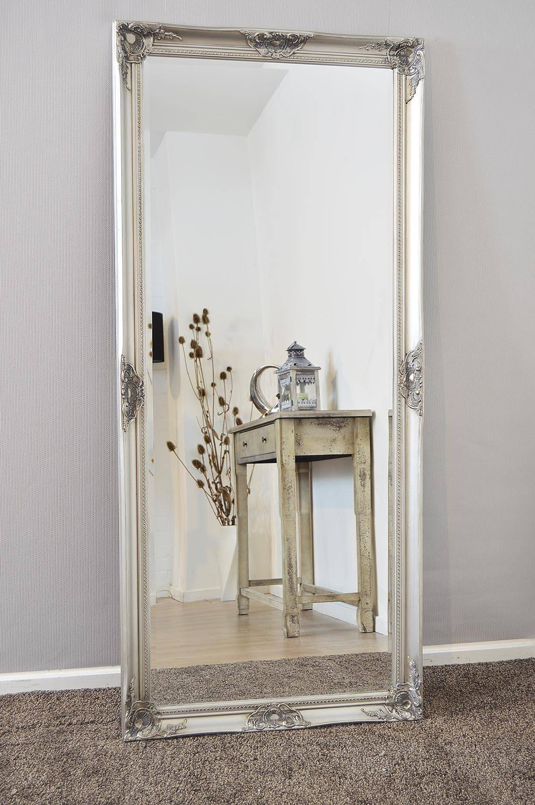 Long Bathroom Mirror 15 Best Collection Of Silver Long Mirrors