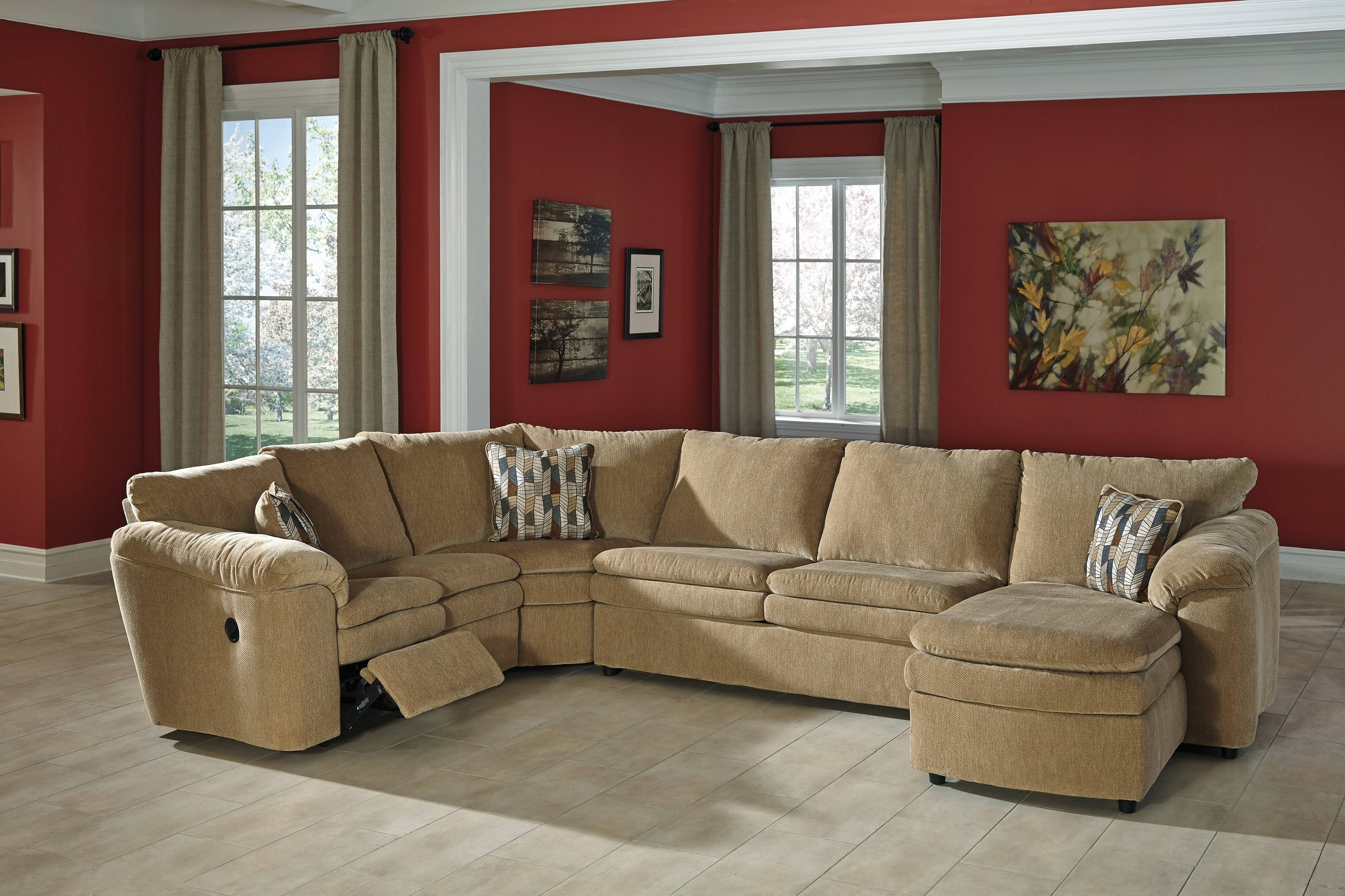 Sectional Sofa Corduroy 15 Inspirations Of Ashley Furniture Brown Corduroy