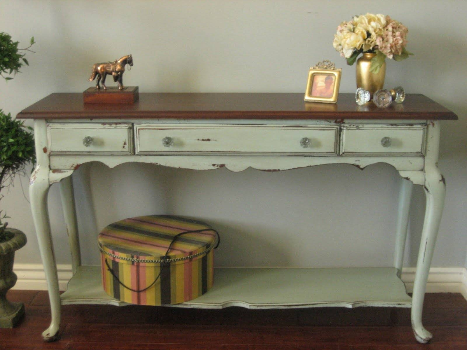 Sofa Table French Country Shabby Chic Sofa Tables Shabby Chic French Country Tables