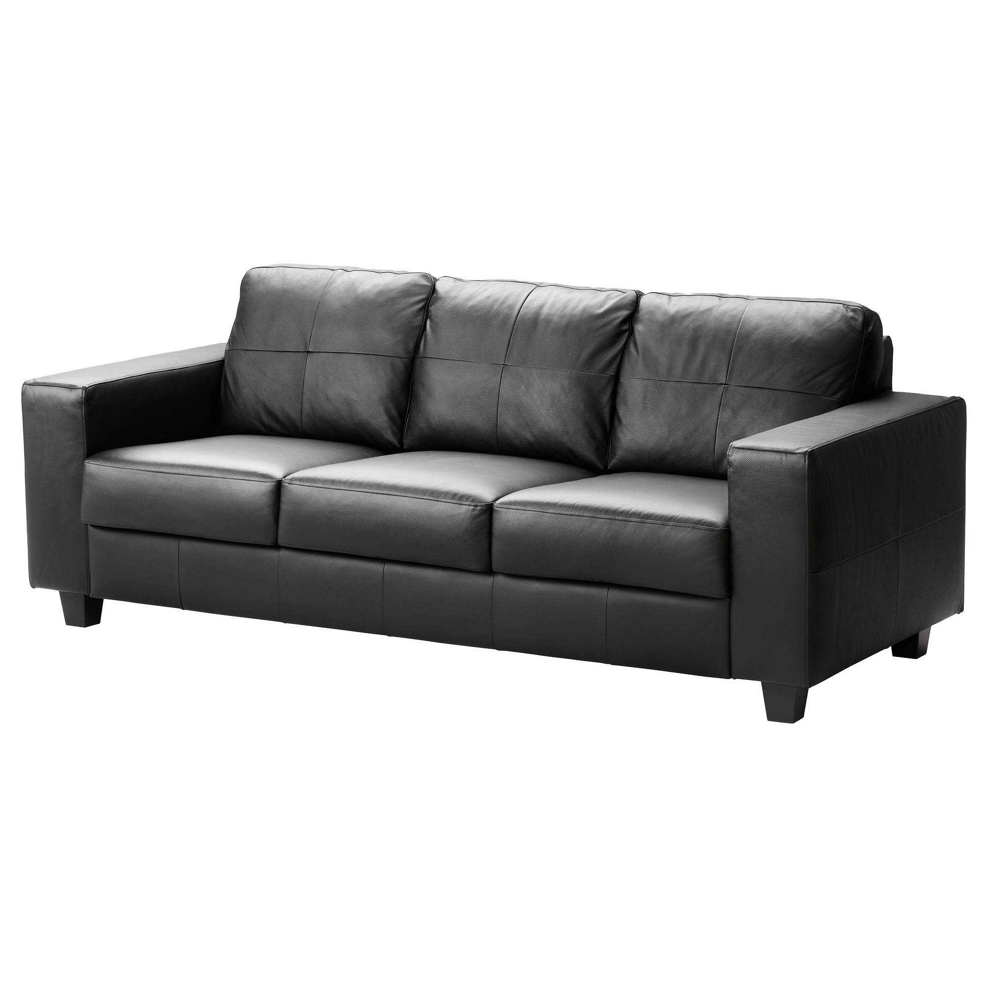 Black Leather Chairs Ikea Best 15 43 Of Black Vinyl Sofas