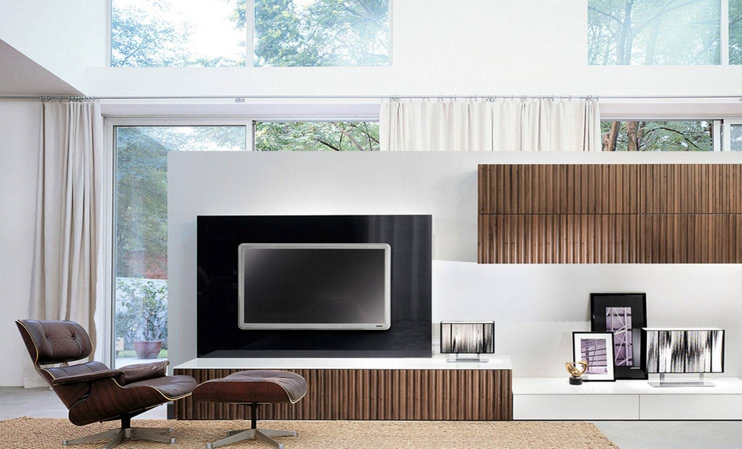 Living Room Wall Unit Best 15 43 Of On The Wall Tv Units