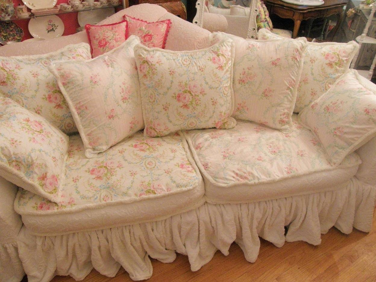 Sofa Shabby Chic Best 15 43 Of Shabby Chic Sofas Covers