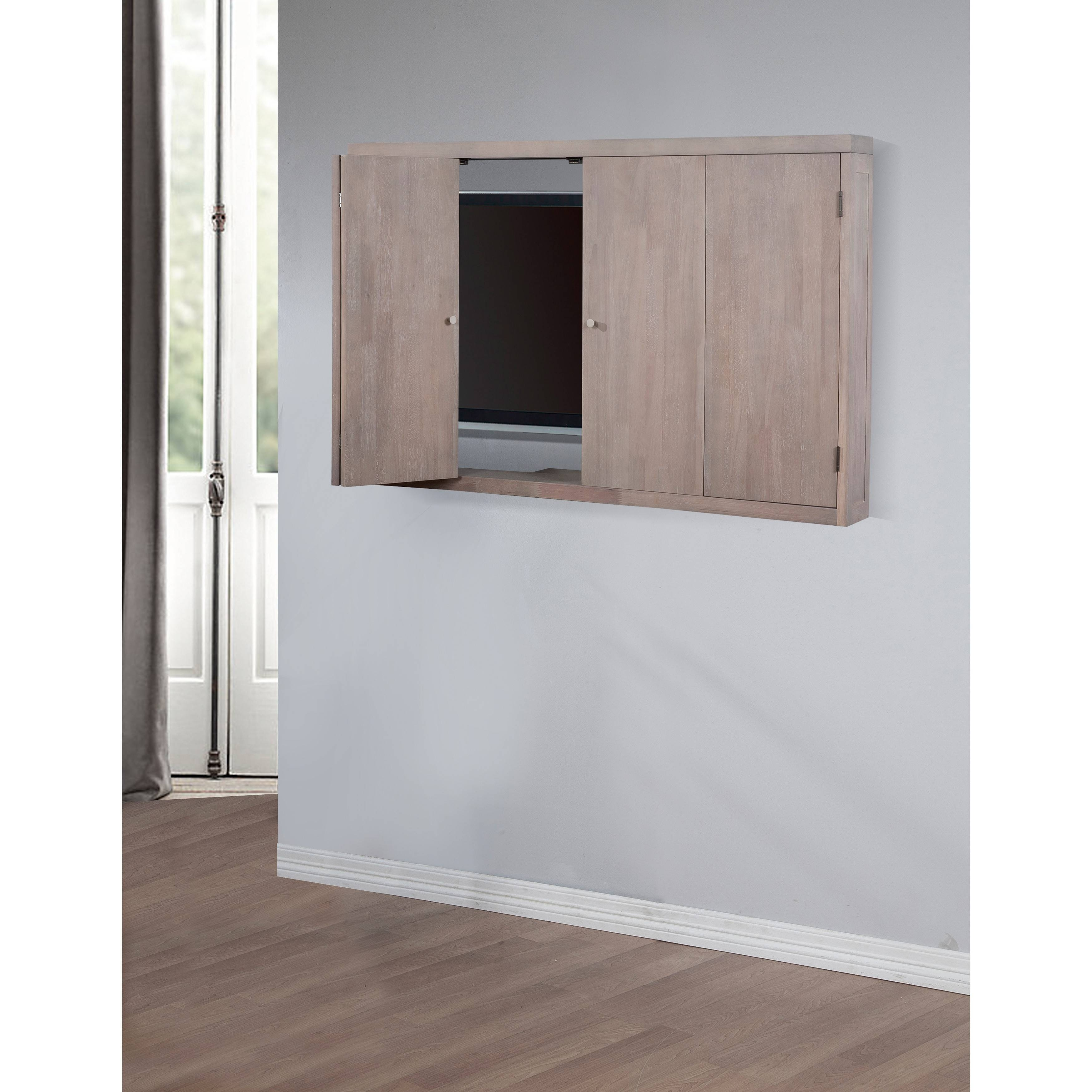 Tv Wall Cabinets For Flat Screens 15 Inspirations Of Enclosed Tv Cabinets For Flat Screens