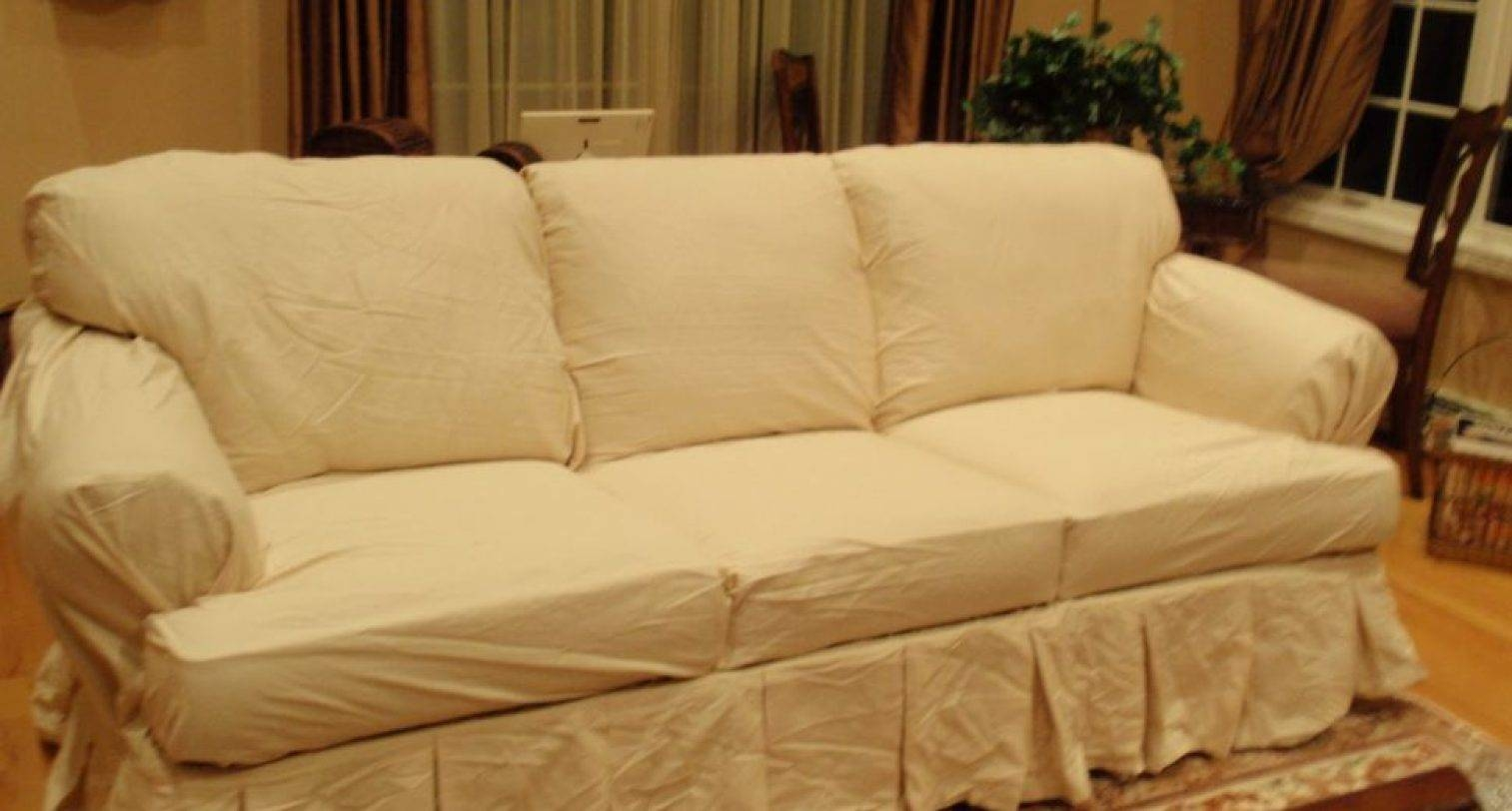 Big Cushion Sofa 15 Best T Cushion Slipcovers For Large Sofas