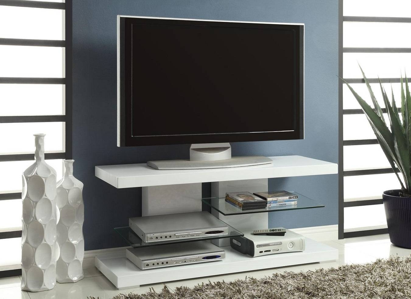 Contemporary Tv Stands 15 Best Collection Of Modern Tv Stands For Flat Screens