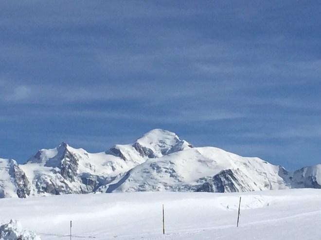 Mont Blanc - Flaine les Grandes Platières 2500