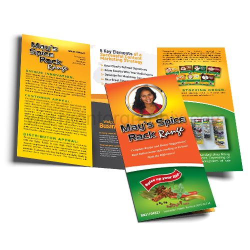 Tri-Fold Brochures Printing with Free Graphic Designing MentorGraphix
