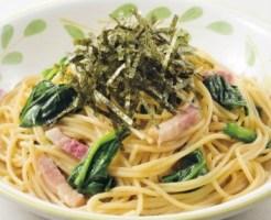 サイゼリヤの日替わりランチ 「ほうれん草のスパゲティ」