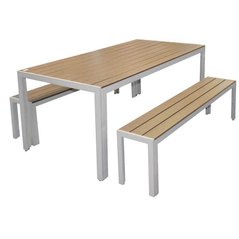 Table Exterieur Avec Banc
