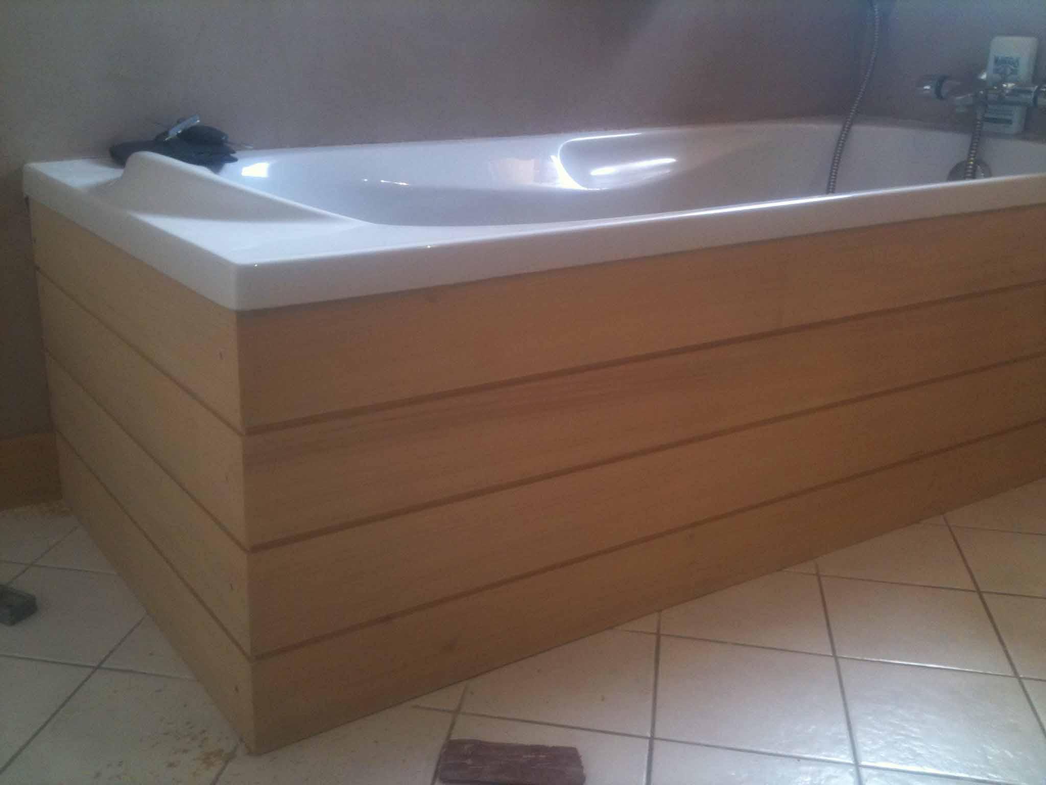 fabriquer une baignoire en bois Fabriquer Sa Baignoire