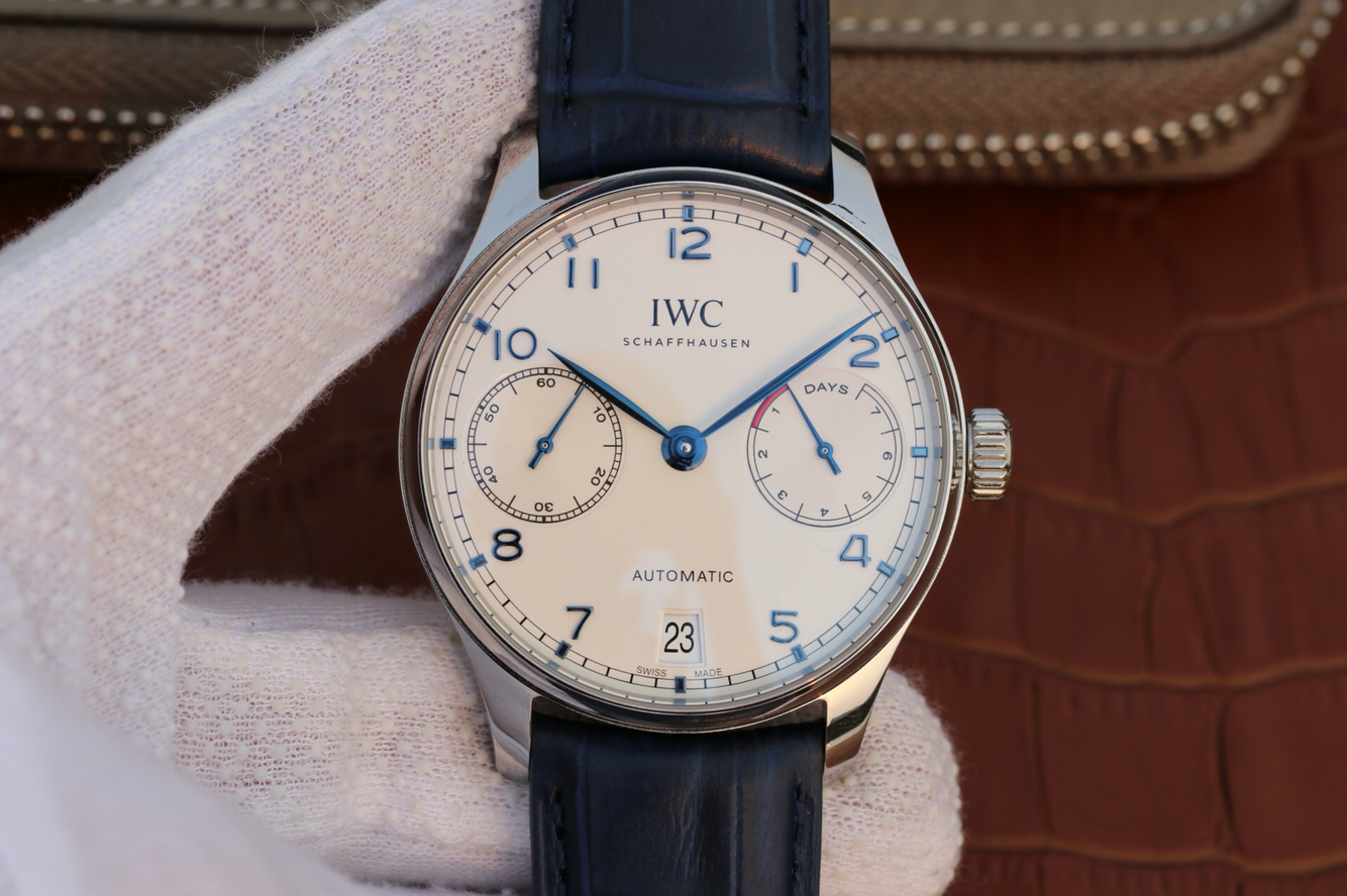 Iwc Replica Zf V5 Replica Iwc Portuguese 7 Days Power Reserve Iw500705 With