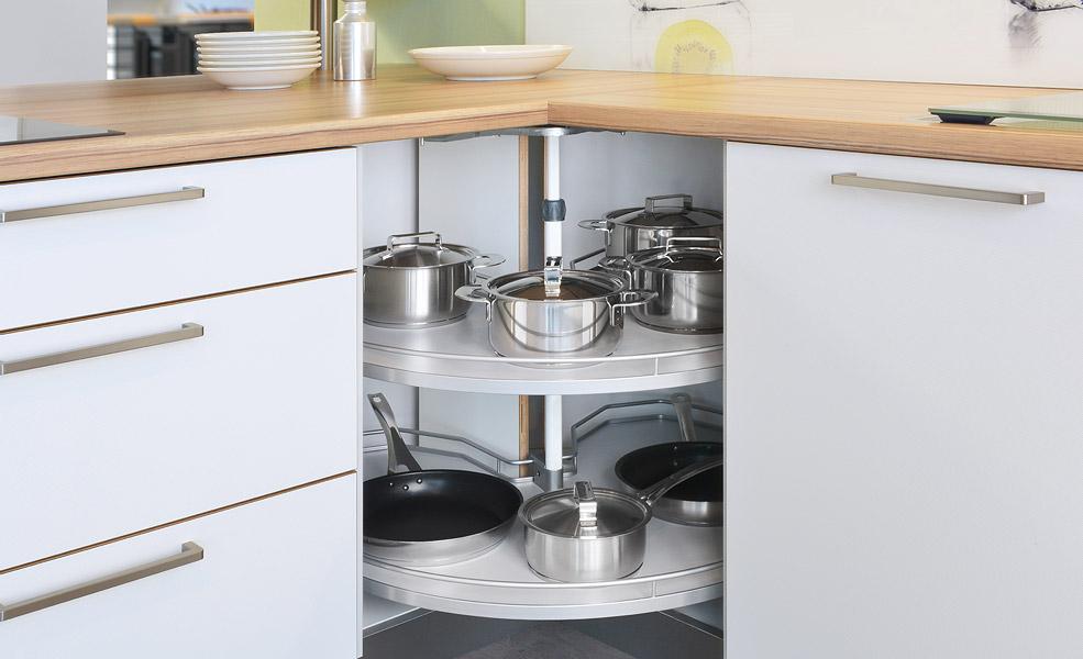 Küche Ecklösung Magic Corner