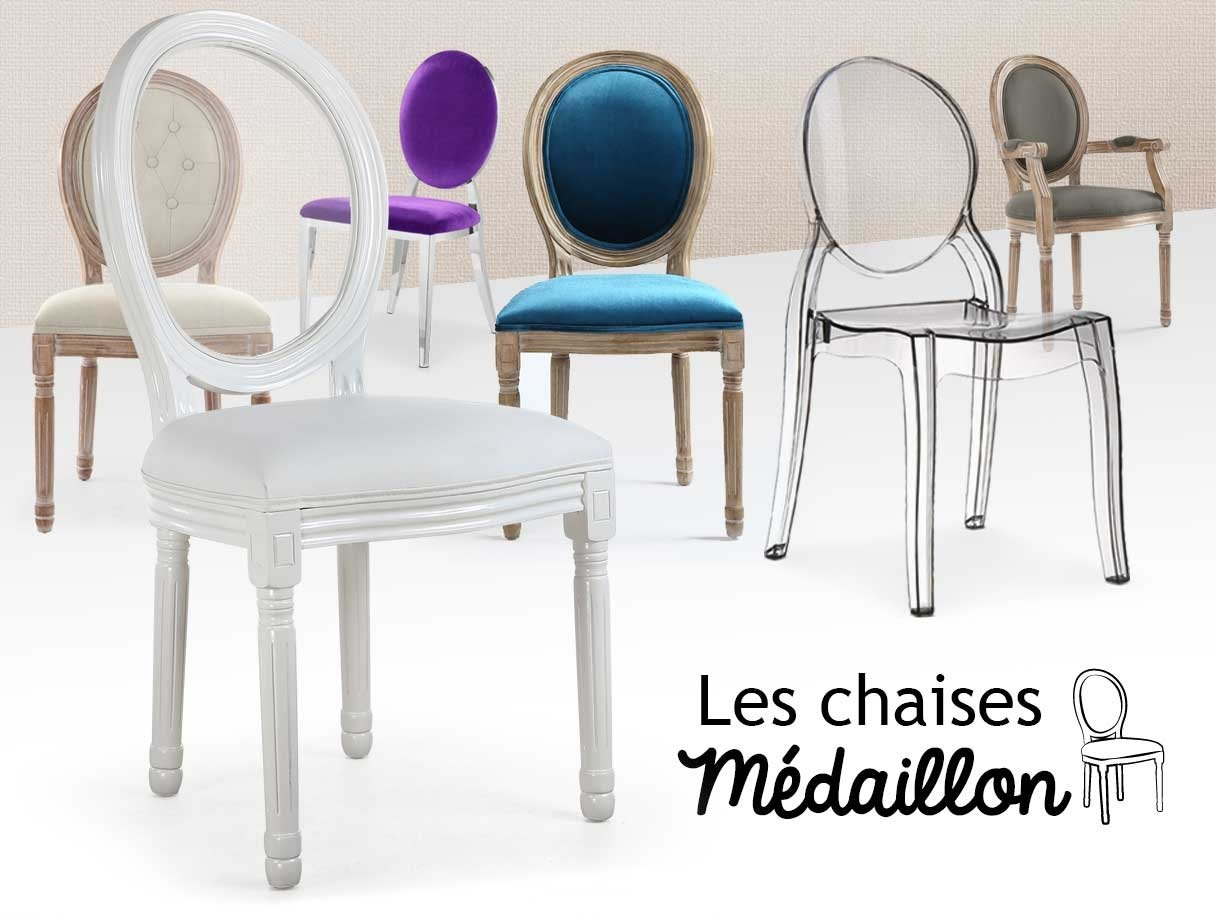 Chaises Medaillons Chaises Medaillons