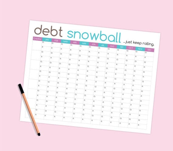 Debt Payoff Printables 10 Printables To Organize Your Finances