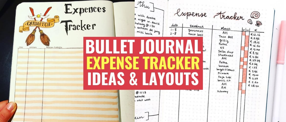 Bullet Journal Expense Tracker Ideas To Help Manage Your Spending