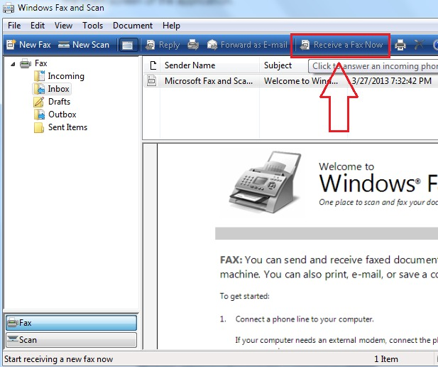 How to Send and Receive Fax on Windows 10 - fax document