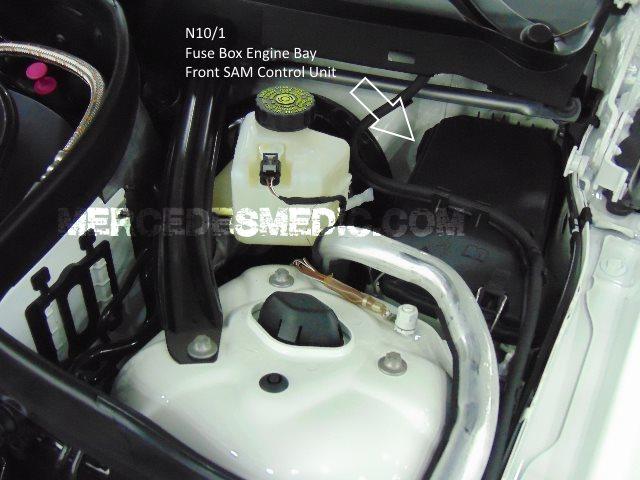 Fuse Chart W221 S-Class 2006-2013 S350 S500 S550 CL500