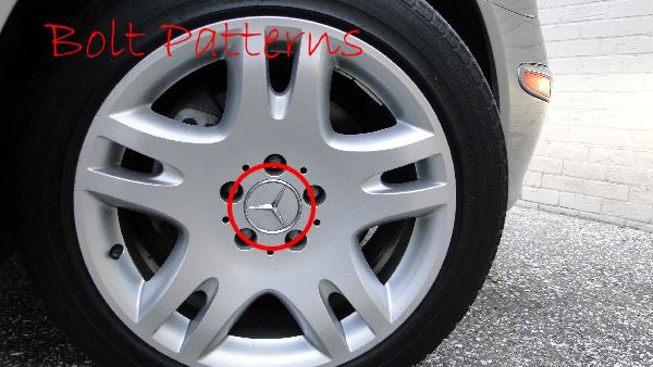 Bolt pattern for Mercedes Benz wheels rims \u2013 MB Medic