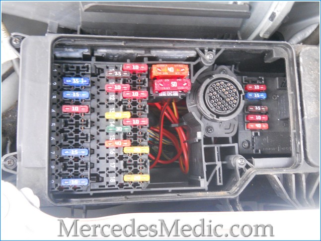 Fuse Box Mercedes Benz Wiring Diagram