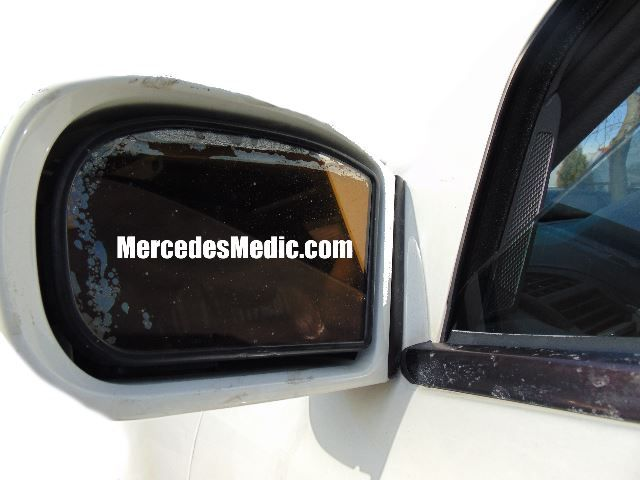 How to remove replace Side View Mirror glass Mercedes Benz \u2013 MB Medic