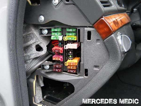 Mercedes S550 Fuse Box Diagram Index listing of wiring diagrams