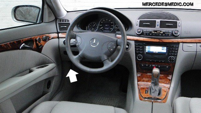 How to manually open trunk of any Mercedes \u2013 MB Medic