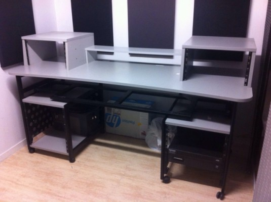 Mueble Estudio Grabacion Vendo: Mueble Para Estudio Proel En Madrid | Hispasonic