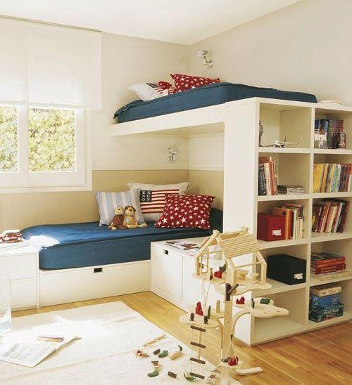 bunk bed libreria Sandra Gilbert