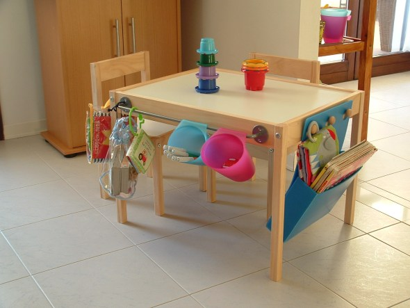 tavolino IKEA hack per bambini