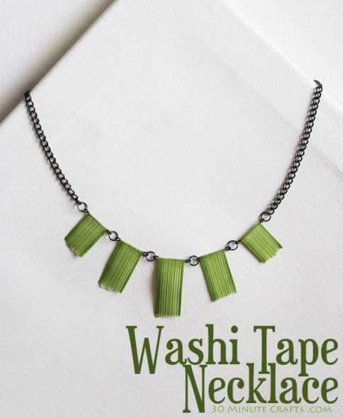 collana washi tape