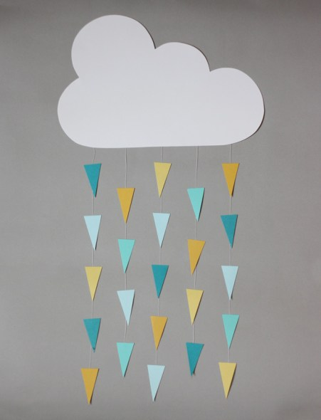 cloud mobile geometrico