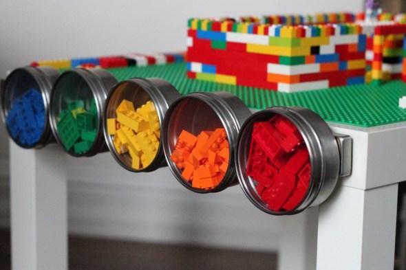 Hack IKEA LEGO tavolino gioco bambini
