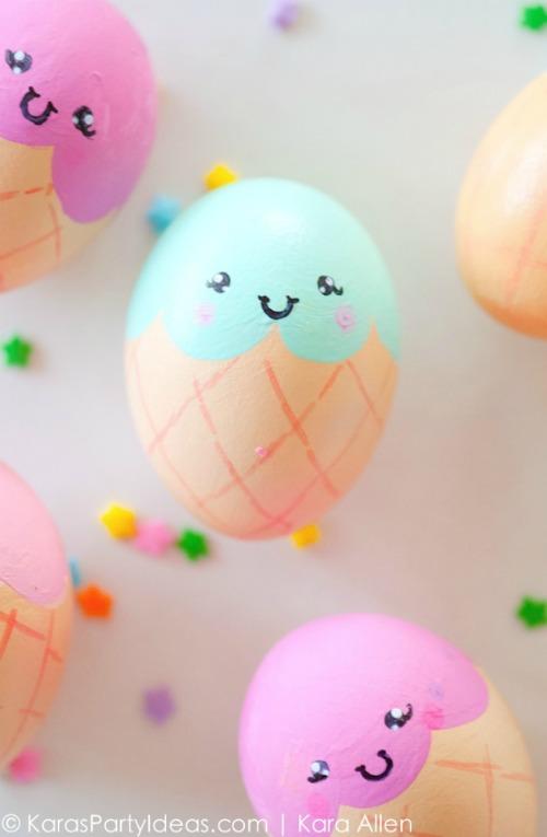 uova-pasqua-dipinte-gelato