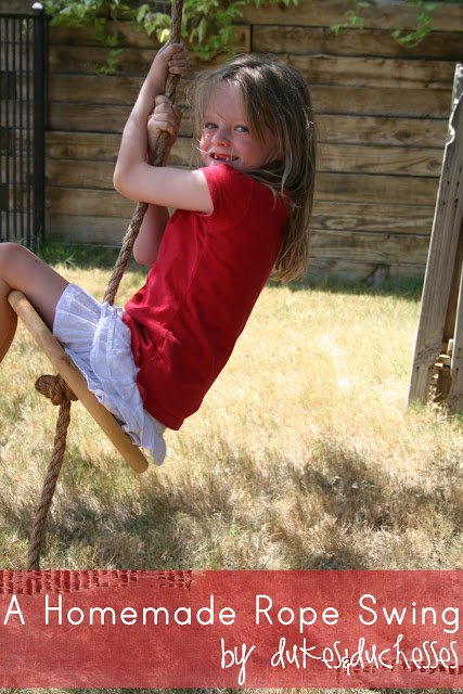 Rope Swing DIY