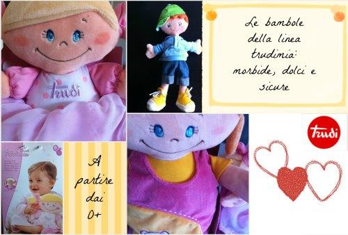 Trudi Bambole Rag Dolls