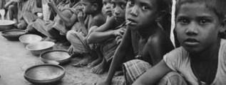 Uno, due, tre, quattro, cinque: ecco un bambino è morto di fame!