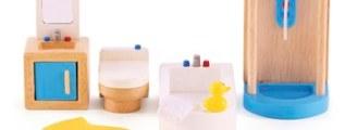 Bagni moderni per le case delle bambole<!--:-->