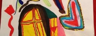 Una grafologa al Mercatino: i disegni di Beatrice