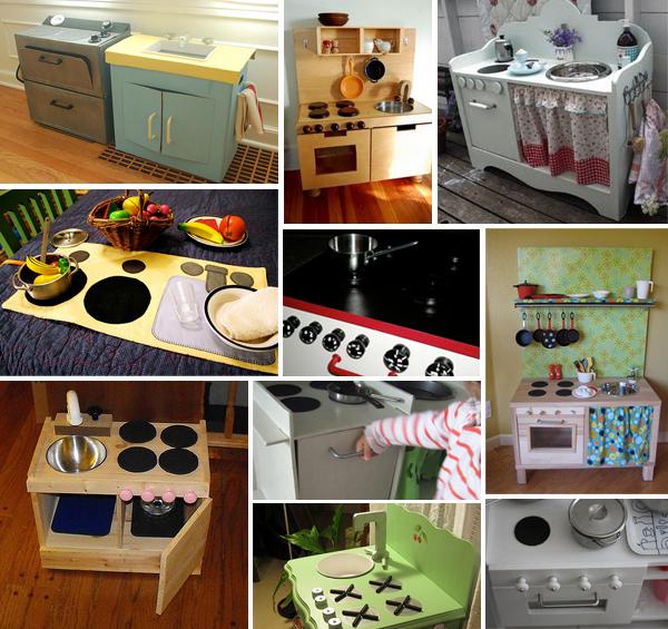 Cucina giocattolo dieci esempi di cucine giocattolo fai da te mercatino dei piccoli - Cucine fai da te in legno ...
