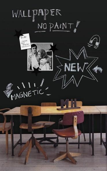 groovy-magnet chalkboard wallpaper