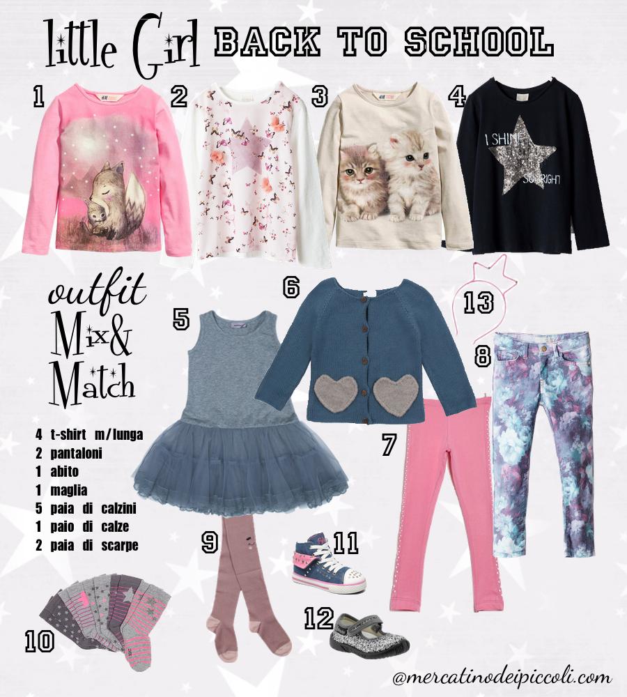 12 pezzi outfit bambina