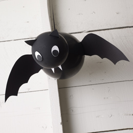 pipistrello palloncino DIY