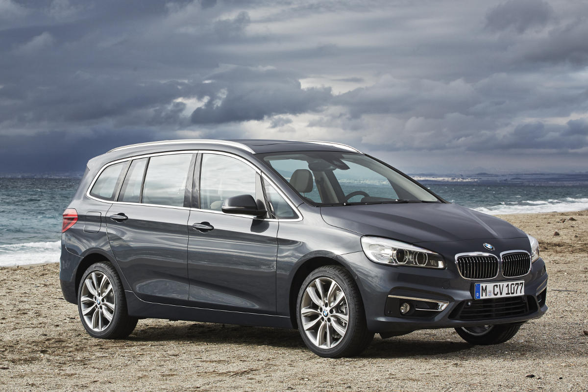 Bmw 2 Series Length Bmw Outsmarts The B Class With 7 Seater 2 Series Gran