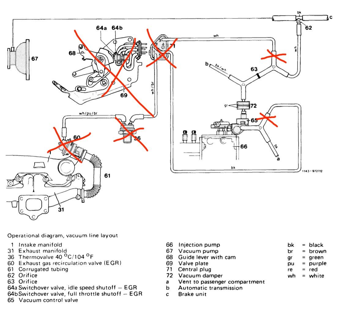 1985 Mercedes 300d Alternator Wiring Diagram Free Auto Vacuum U2022 For