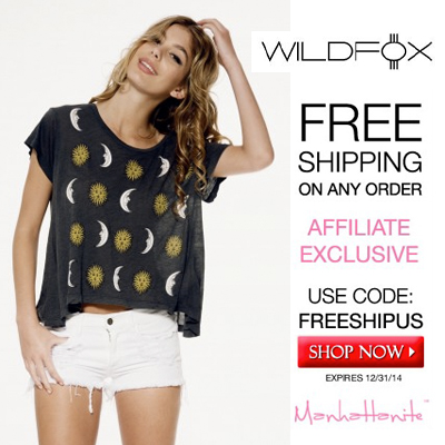 Shop the Latest Styles by Wildfox at ShopManhattanite.com! Get Free Shipping on Any U.S. Order, Use Code: FREESHIPUS. Buy Now!